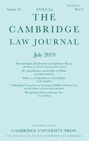 Cambridge-law-journal - доступно в университете